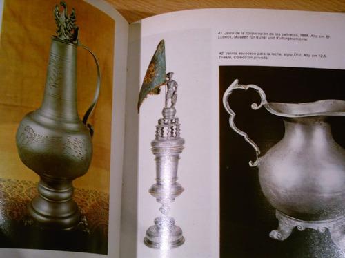 libro antiguo el peltre vizcontea fotos historia