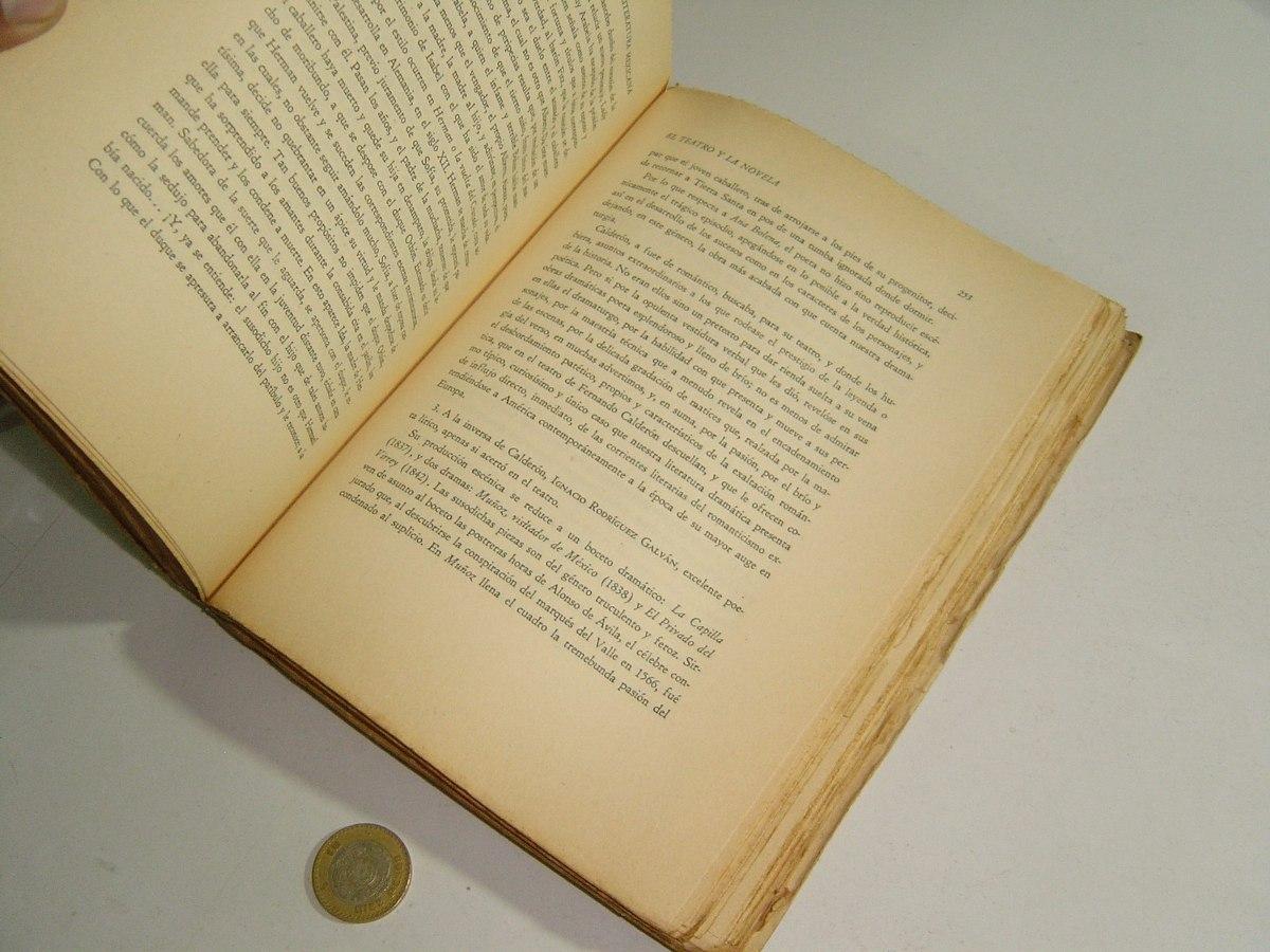Libro antiguo historia de la literatura mexicana carlos - Libros antiguos valor ...