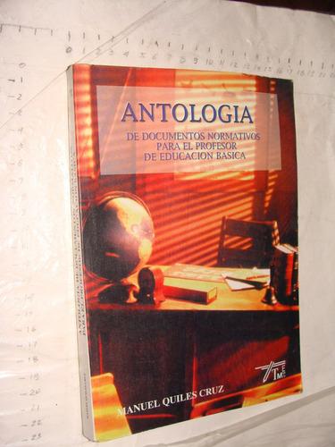 libro antologia de documetos normativos para el profesor de