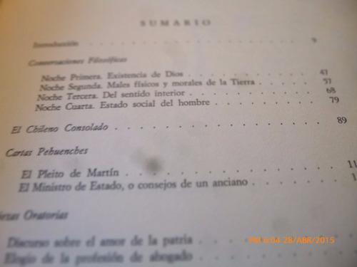 libro antologia -- juan egaña (924