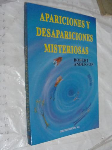 libro apariciones y desapariciones misteriosas , robert ande