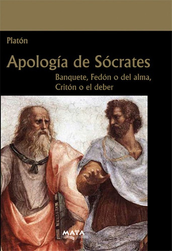 libro. apología de sócrates - el banquete - fedón - critón