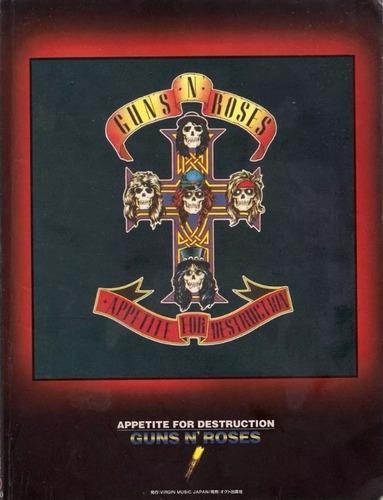 libro: appetite for destruction - guns n' roses - pdf