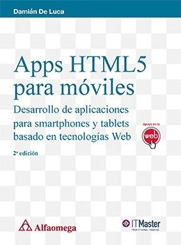 libro apps html5 p/ móviles desarrollo aplicac. smartphones