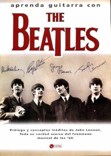 libro, aprenda guitarra con the beatles.