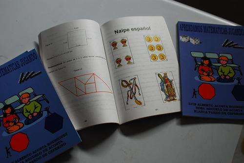 libro aprendamos matemáticas jugando didáctico