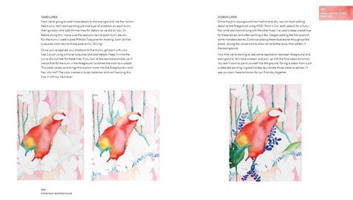 libro aprende a pintar acuarela en 30 dias