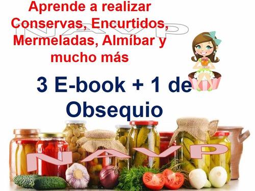libro aprende recetas conservas encurtidos mermelada almíbar