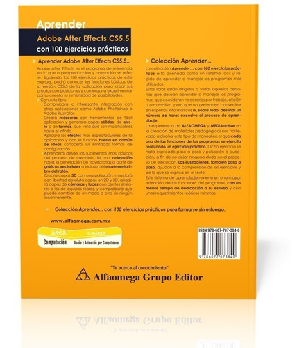 libro aprender adobe after effects cs5.5