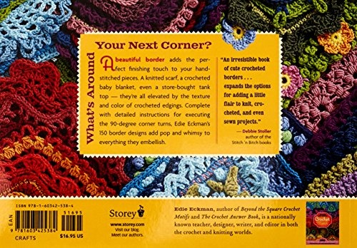 Libro Around The Corner Crochet Borders: 150 Colorful, Creat