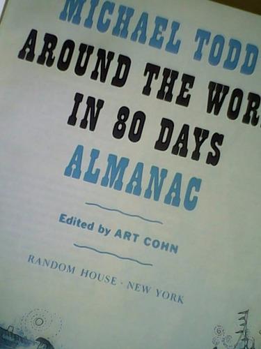 libro: around the world in 80 days. almanac
