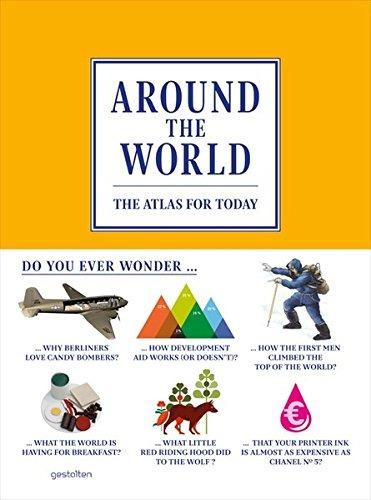 libro around the world: the atlas for today - nuevo