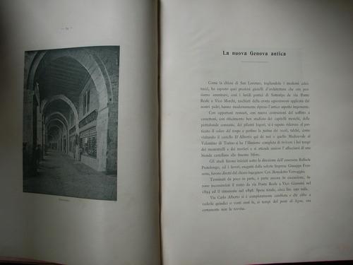 libro arquitectura antigua genova nuova ed bacigalupi 1902