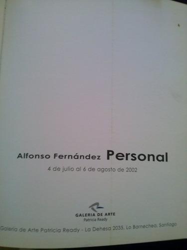 libro arte alfonso fernandez personal