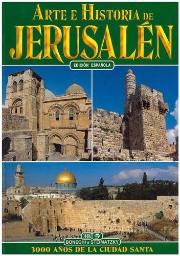 libro, arte e historia de jerusalén.