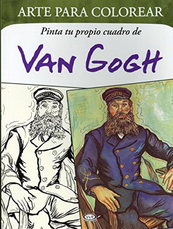 Libro Arte Para Colorear Van Gogh Isbn 9789876128643