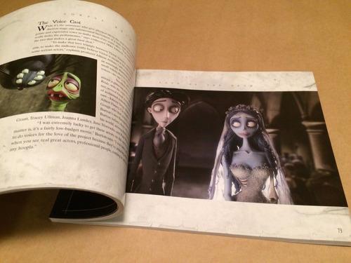 libro arte tim burton cadáver de la novia corpse bride