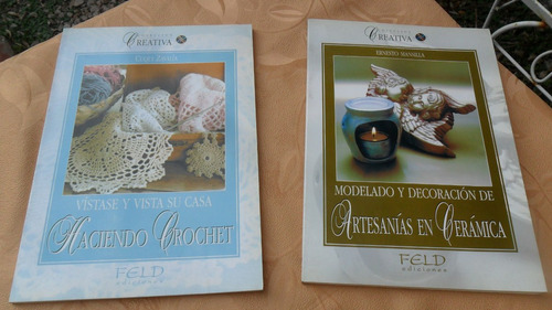 libro artesanías en ceramica e. mansilla  colección creativa
