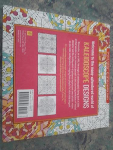 libro artístico de colorear