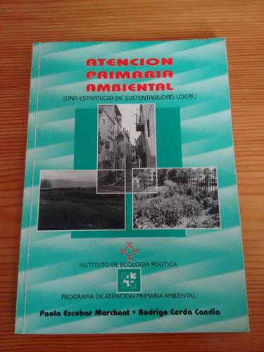 libro atención primaria ambiental paola escobar et al