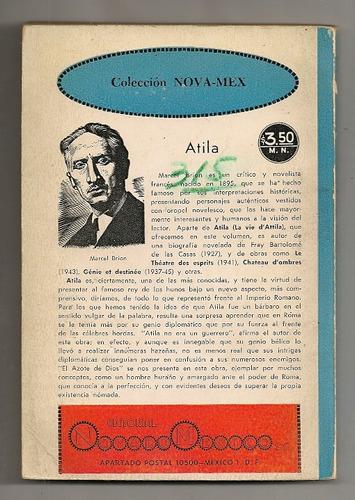 libro atila el huno ed. novaro 1956