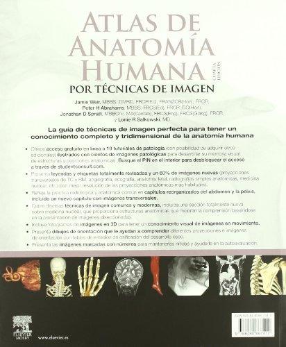 libro atlas de anatomia humana por tecnicas de imagen