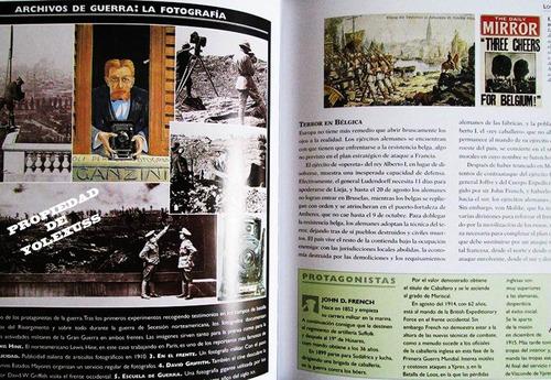 libro atlas ilustrado de la primera guerra mundial original