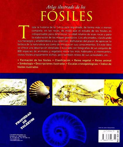libro atlas ilustrado de los fosiles