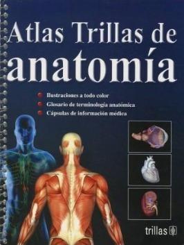 libro atlas trillas de anatomía envío gratis