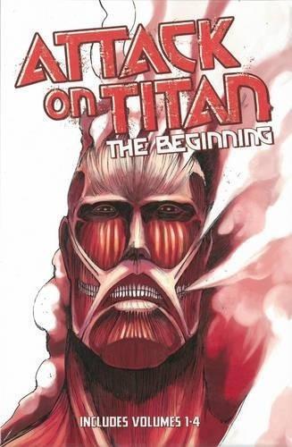 libro attack on titan: the beginning - nuevo