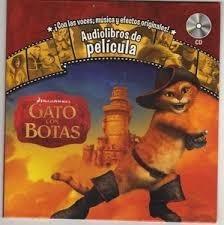 libro audiolibros gato con botas voces musica cd historieta