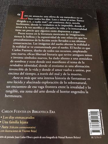 Libro Aura Carlos Fuentes +envío Gratis - $ 150.00 en