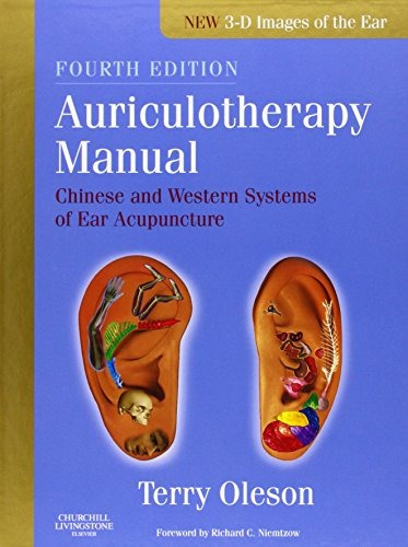 libro auriculotherapy manual: chinese and western systems