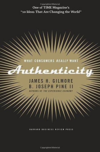 libro authenticity: what consumers really want - nuevo