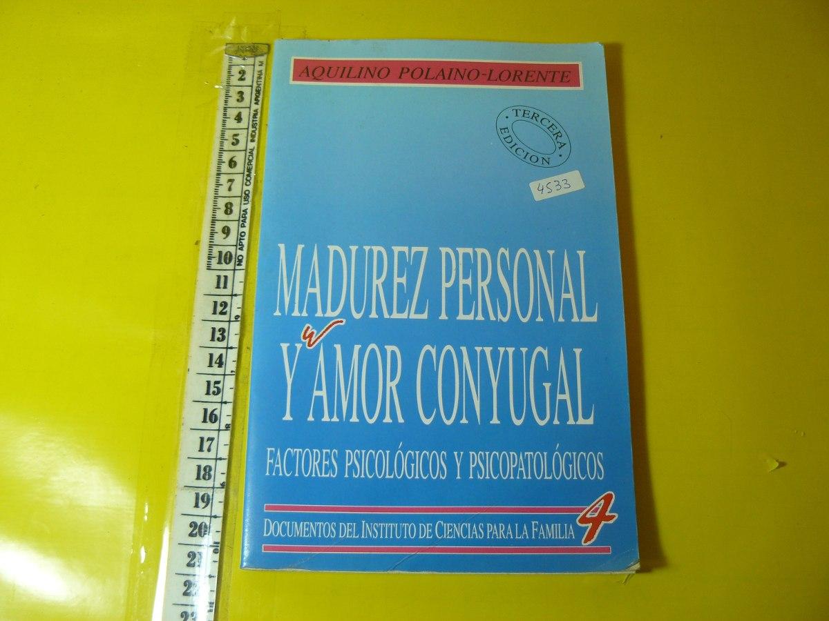 MADUREZ PERSONAL Y AMOR CONYUGAL DOWNLOAD