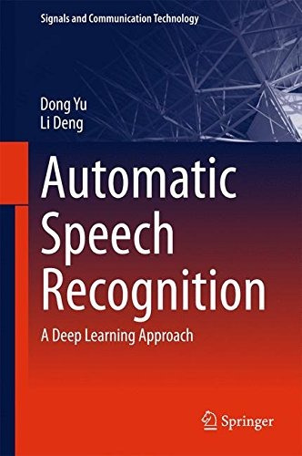libro automatic speech recognition: a deep learning approach
