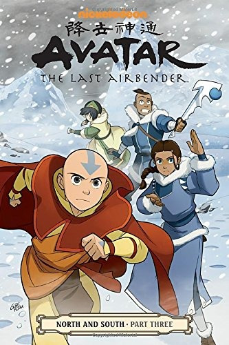 libro avatar the last airbender north and south 3 - nuevo
