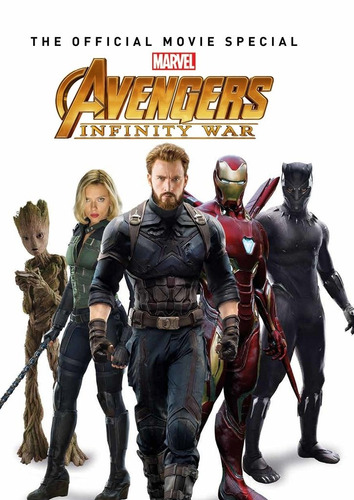 libro: avengers: infinity war - the official movie special