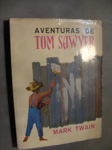 libro aventuras de tom sawyer , mark twain , 252 paginas , a