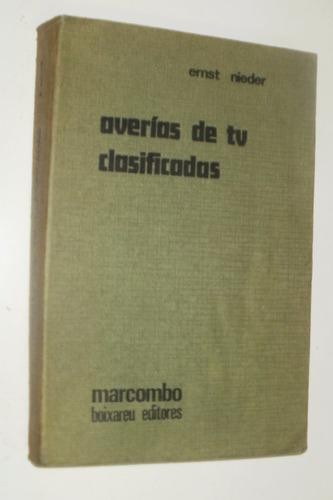 libro averias de tv clasificadas ernt nieder - año 1977
