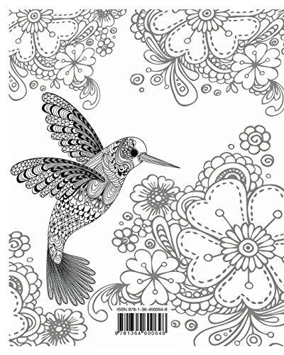 Libro Aves Libro Para Colorear Para Los Adultos Jaso