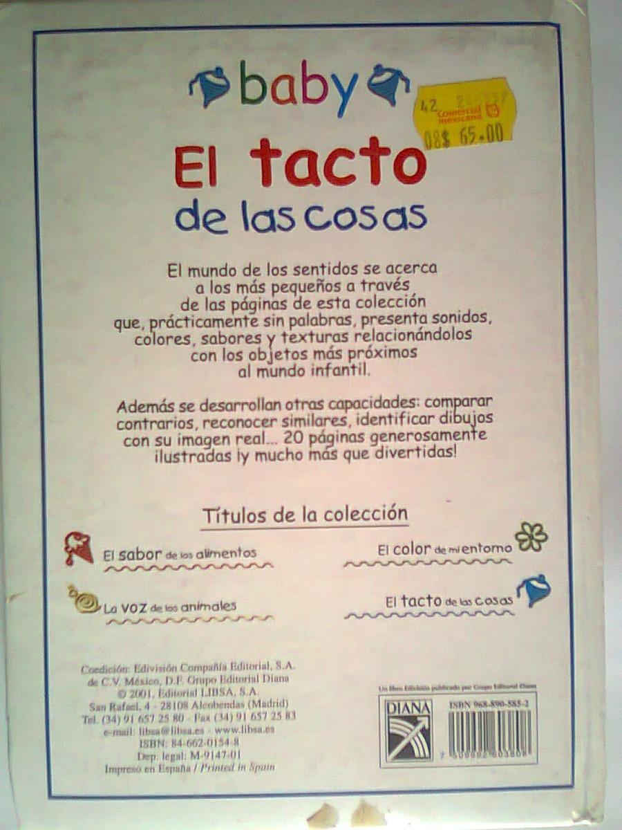 Libro Baby El Tacto De Las Cosas, Diana - $ 190.00 en Mercado Libre