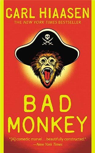 libro bad monkey - nuevo