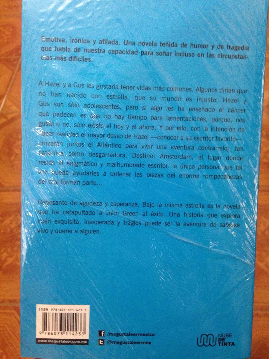 Libro Bajo La Misma Estrella - $ 100.00 en Mercado Libre