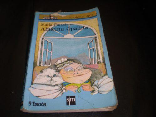 libro barco a vapor  abuelita opalina