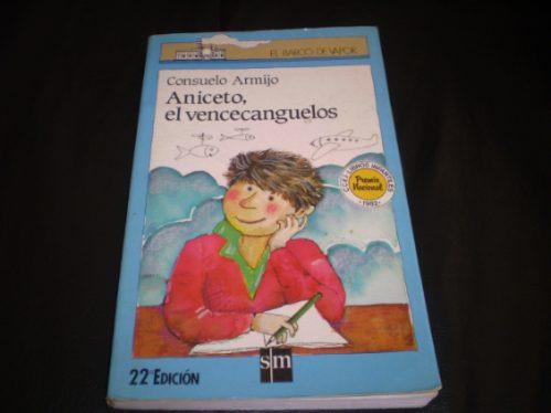libro barco a vapor  aniceto el vencecaguelos (r821