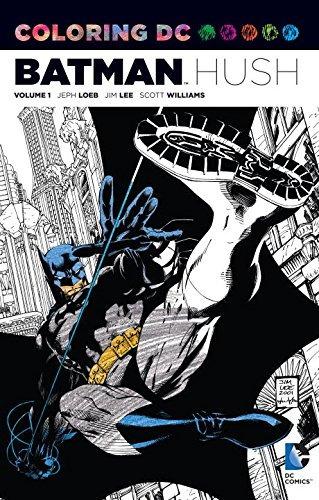 Libro Batman Hush Adult Coloring Book: 1 - Nuevo - $ 640.00 en ...
