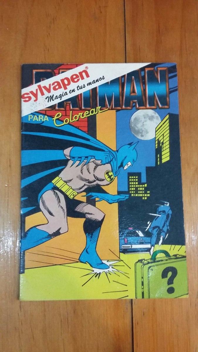 Libro Batman Para Colorear Magicolor (sin Uso) (b) - $ 100,00 en ...