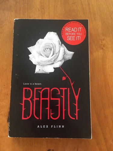 libro beastly by alex flinn ed. harper