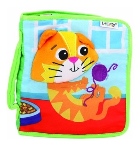 libro bebe estimulación libro gatito mittens lamaze